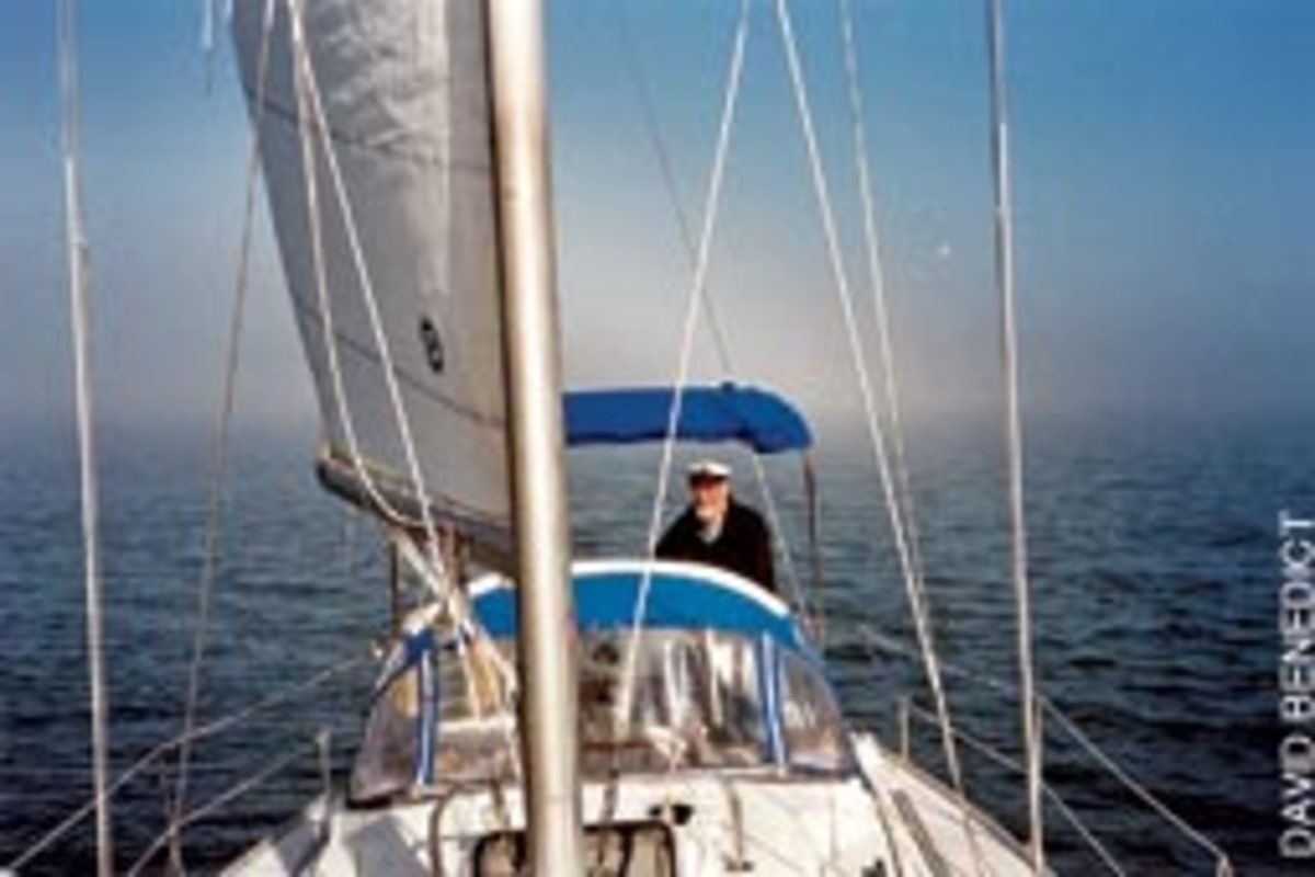Chesapeake Bay sailor David Benedict decided he had one last 'long cruise' in his bones and jumped at the chance this summer.