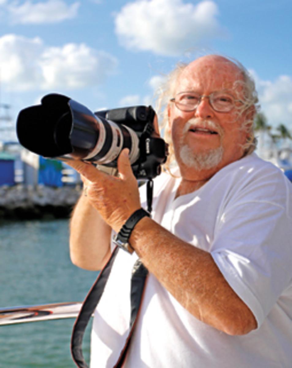 World-class yachting photographer Bob Grieser