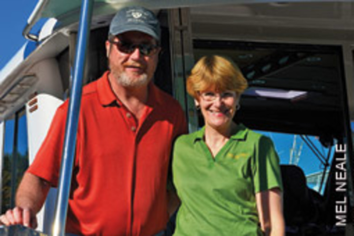 Bob and Becky Preston are using their time wisely, doing what they love and helping others.