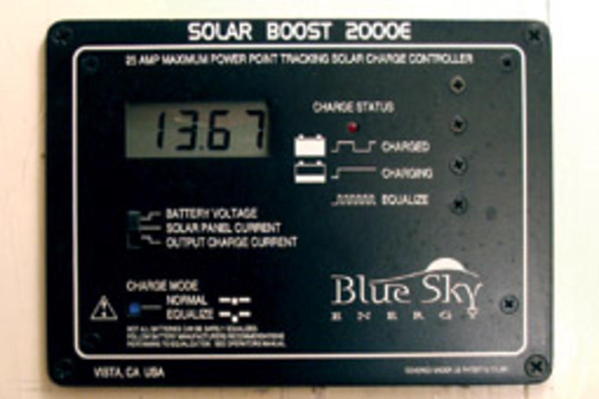 White Cap's solar power controller