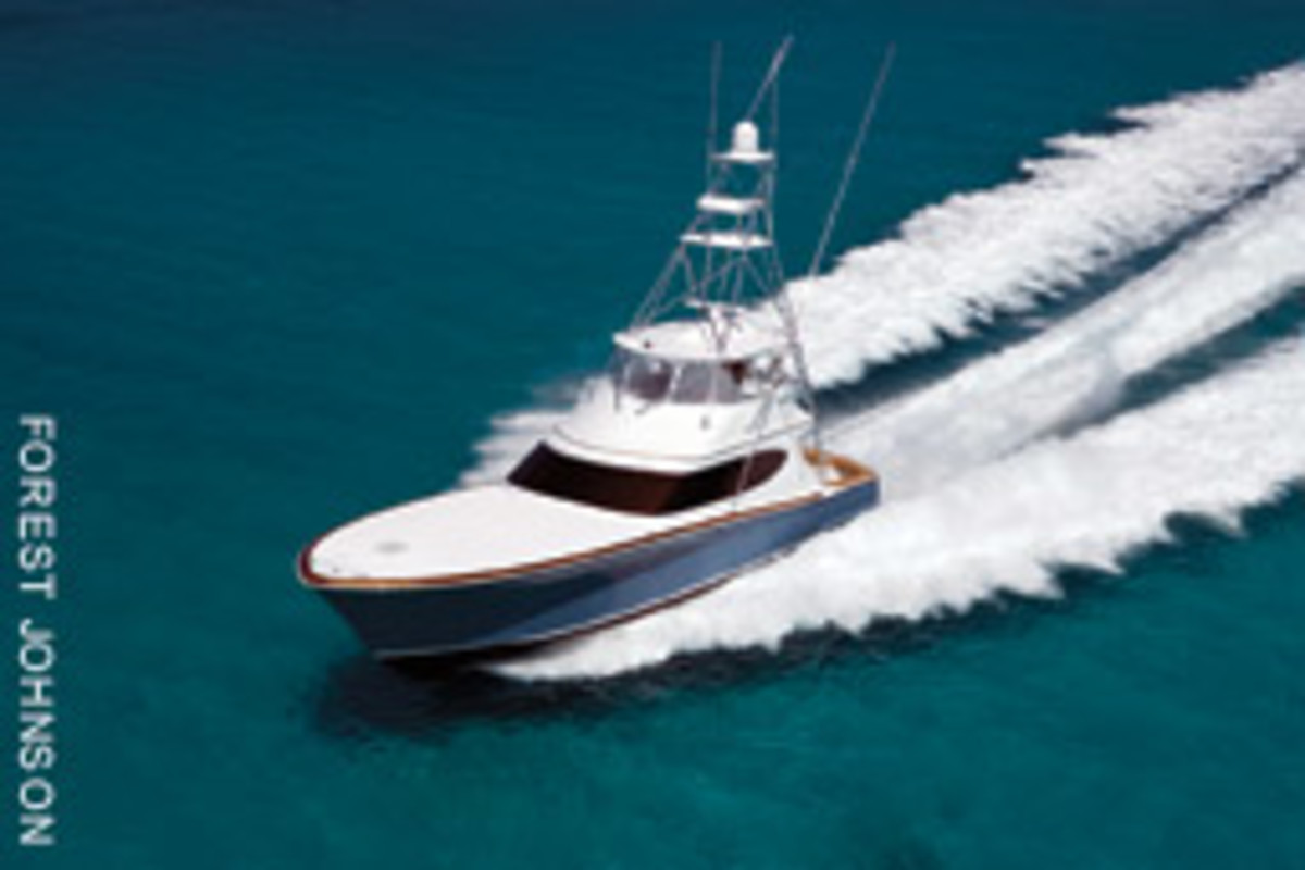 Donald L. Blount and Associates worked with Hatteras Yachts on the new 63GT.