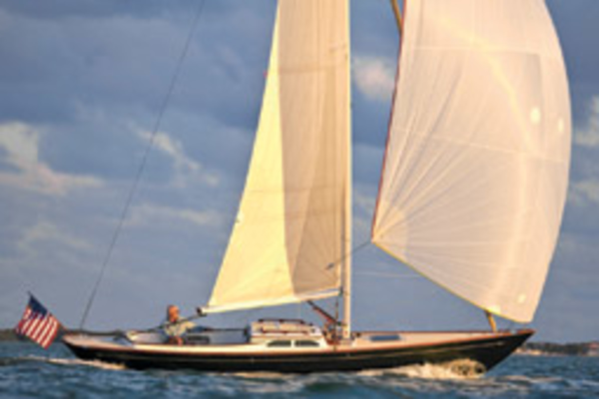 M29 daysailer, Morris Yachts