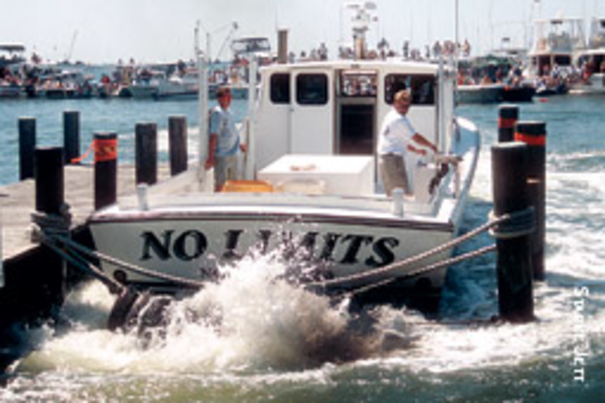 The watermen who compete in the annual docking contest in Crisfield, Md., move fast and furious.