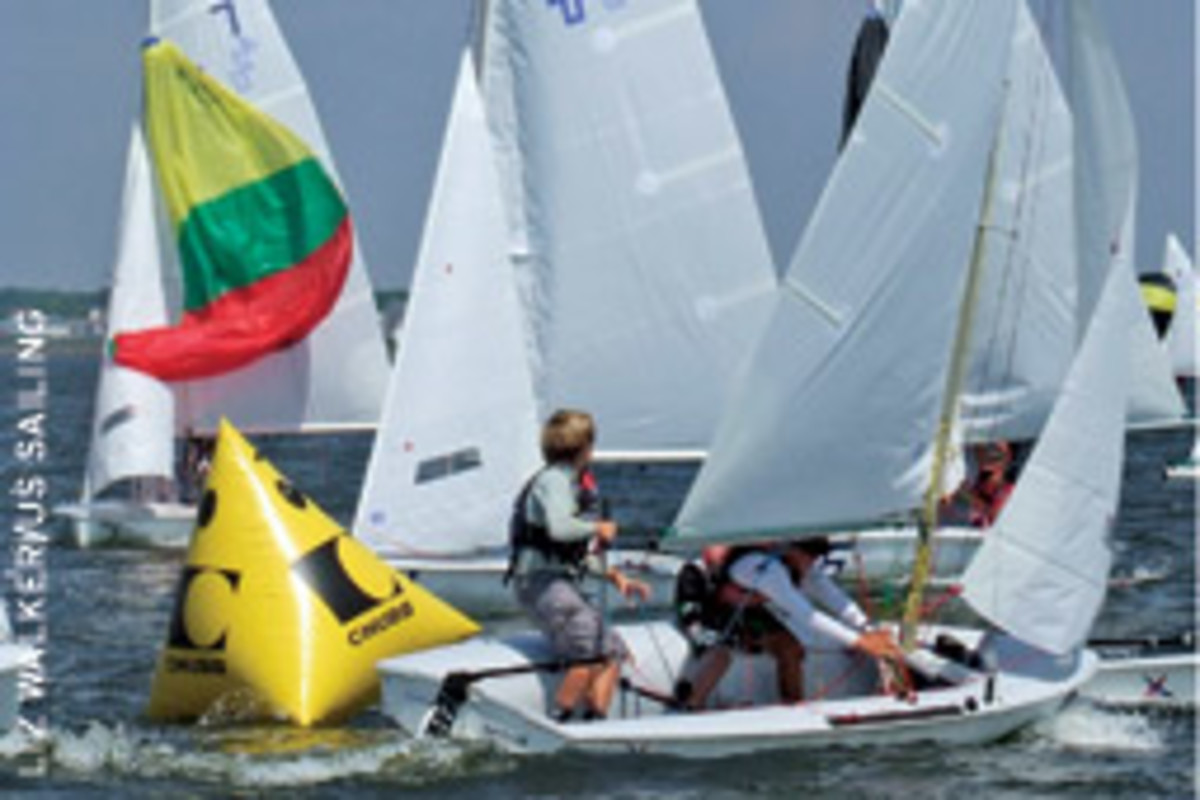 The Junior Olympic program culminates with the Orange Bowl, hosted by the U.S. Sailing Center and Coral Reef Yacht Club in Miami.