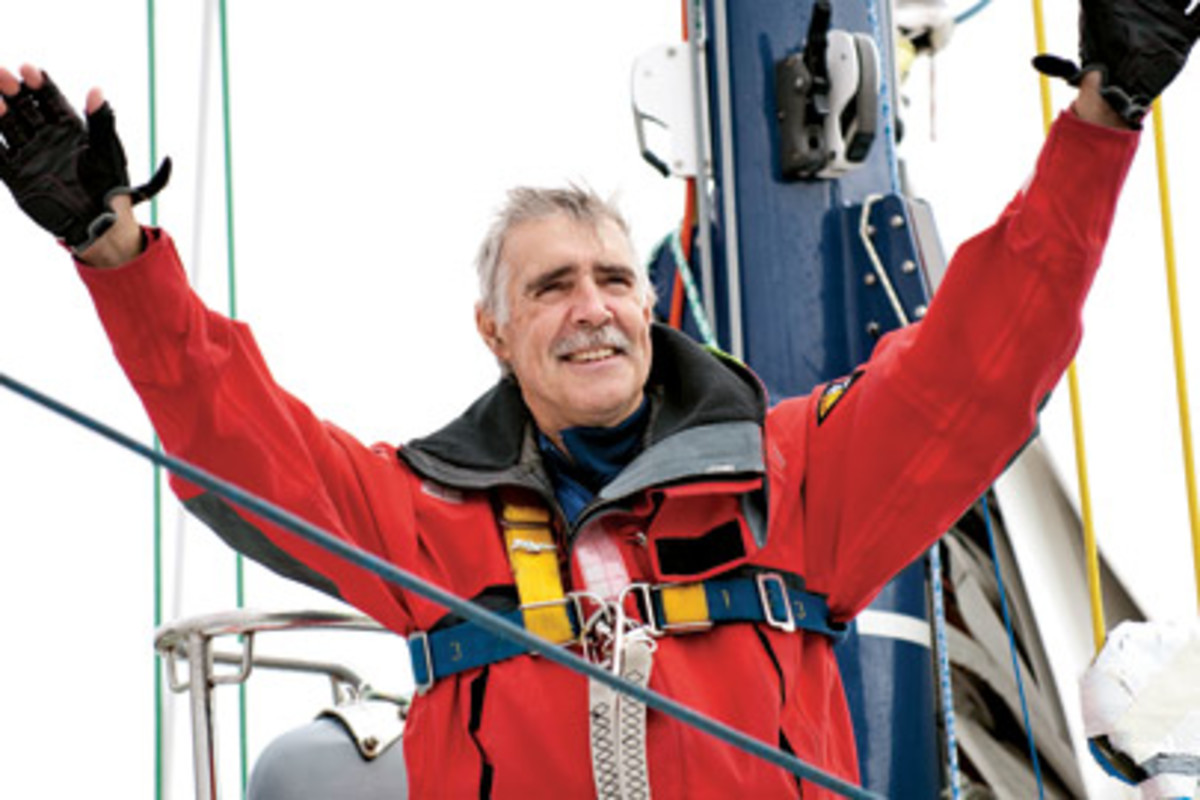 Wilson is only the second American to complete the Vendee Globe.