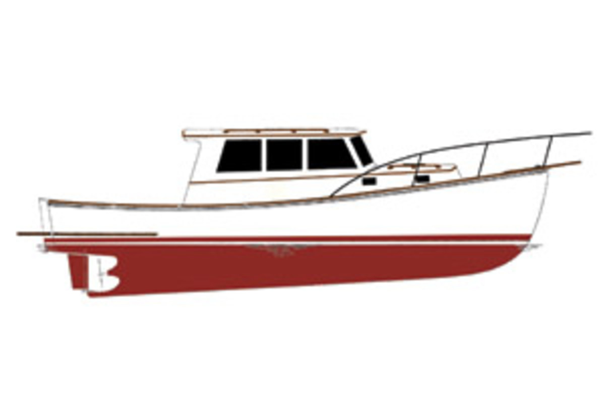 The newest offering, the Lowell 38.