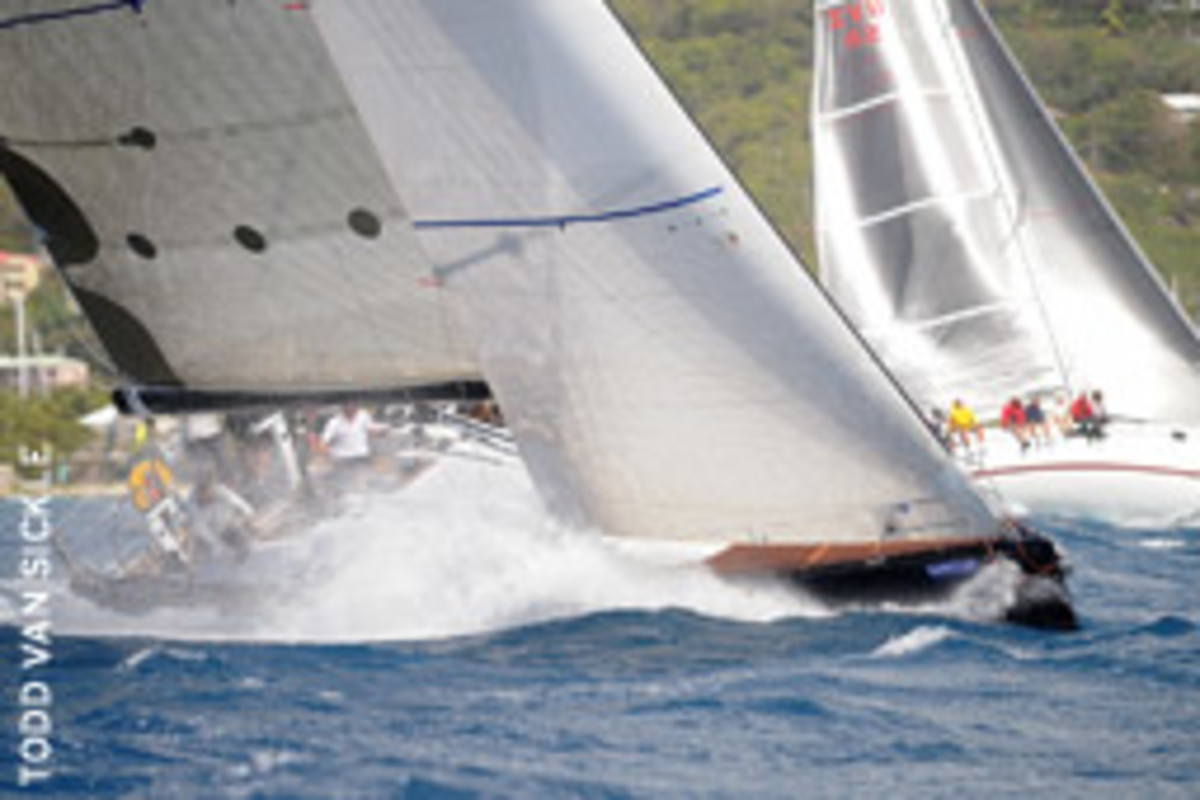 During last year's race, organizers for the BVI Spring Regatta found one simple way to make the race greener.