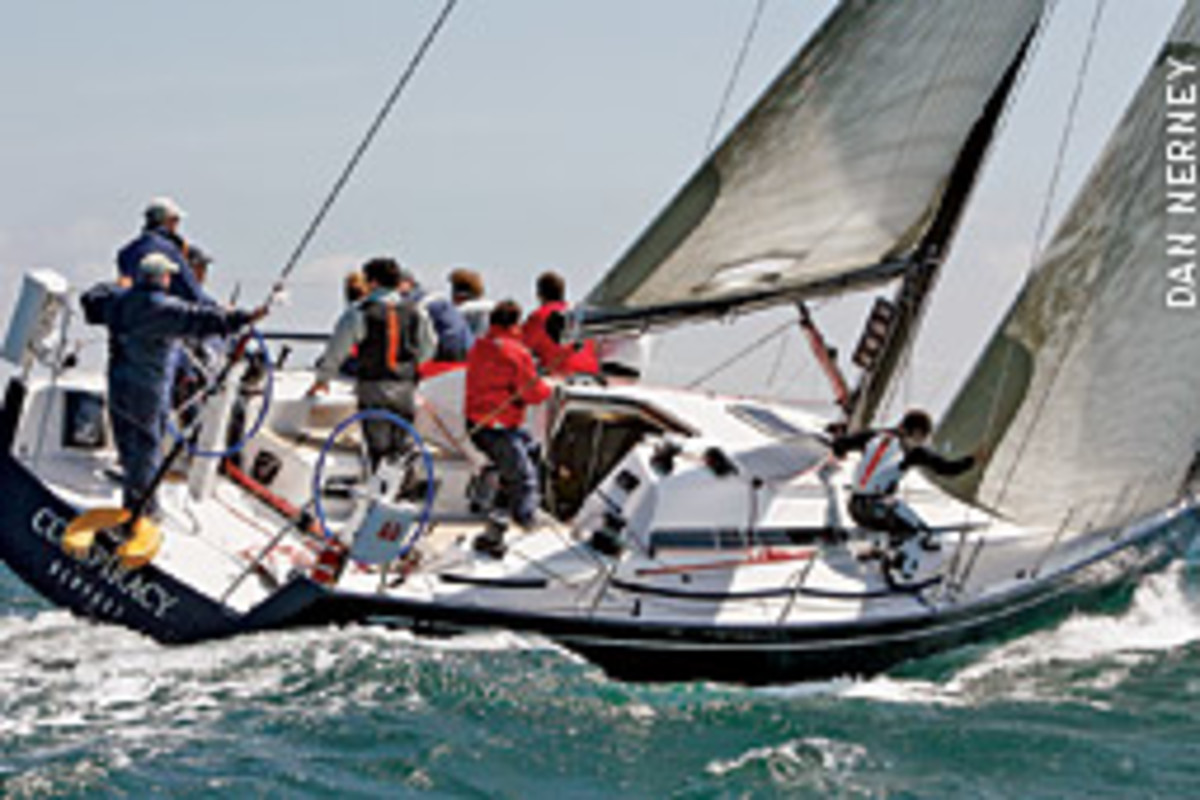 NYYC Club Swan 42s such as Conspiracy will compete in the first New York Yacht Club Invitational Cup in September.