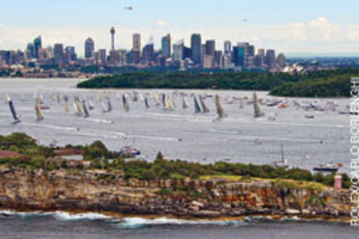 A fleet of 87 boats started the race Dec. 26, and within two days 18 of them had retired.