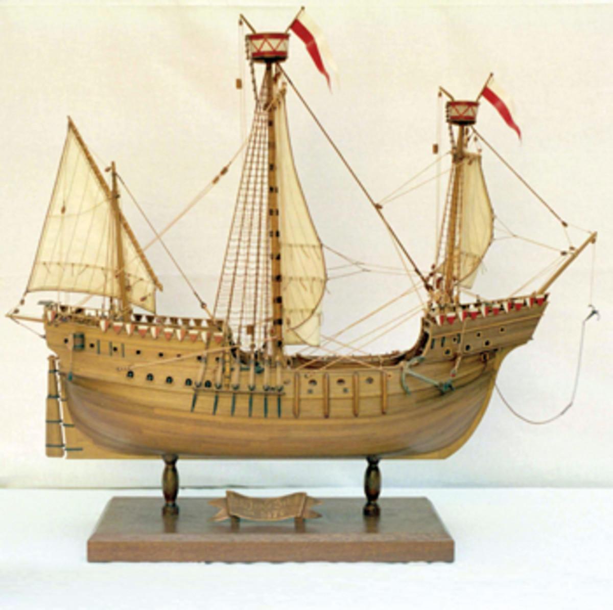 The Hanneke Wrome's cargo included 10,000 gold guilders when it sank in 1468.