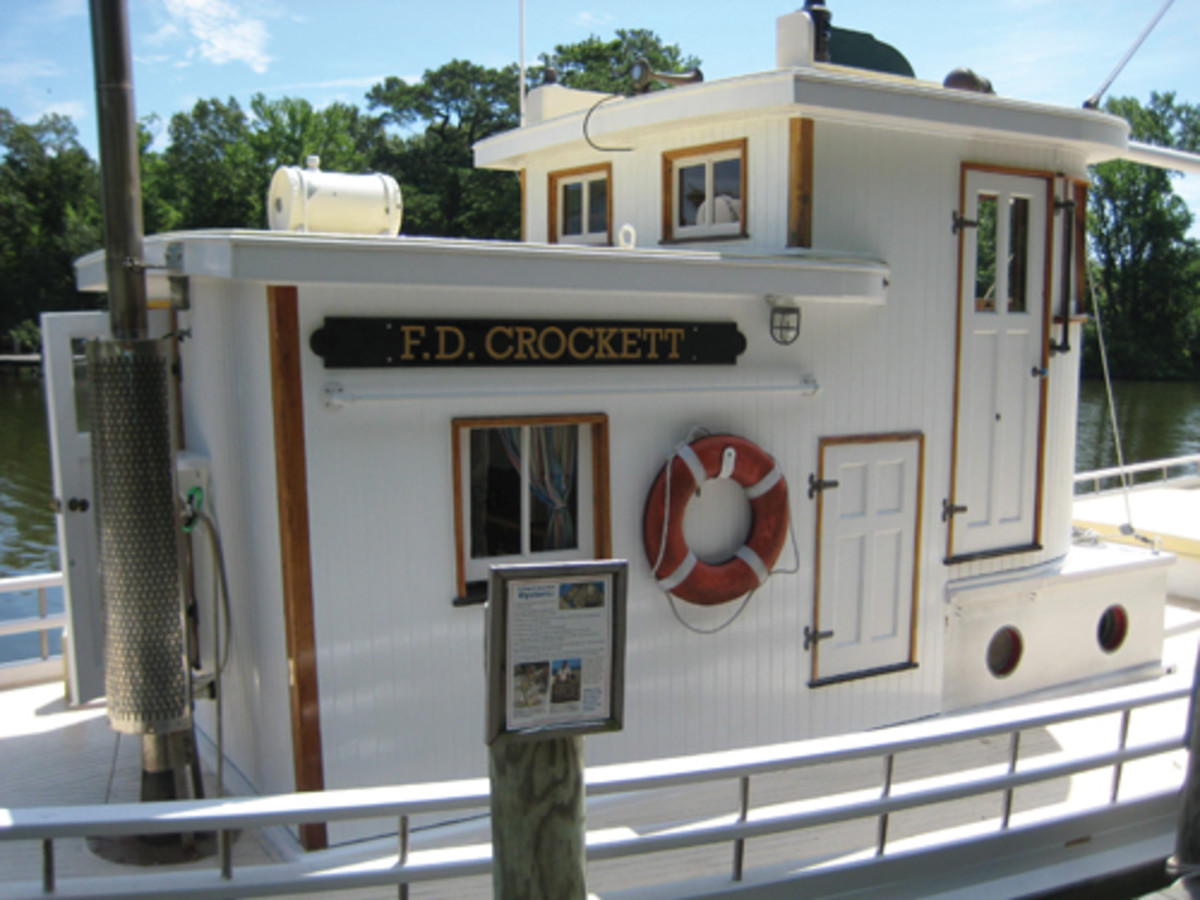 Owned by the Deltaville Maritime Museum, the F.D. Crockett is listed on the National Register of Historic Places. Lovingly rebuilt by a dedicated crew, she now sails as an ambassador of Chesapeake Bay.