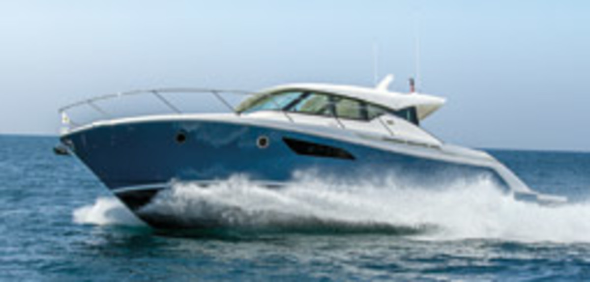 The 44 Coupe represents the next generation of Tiara Yachts.