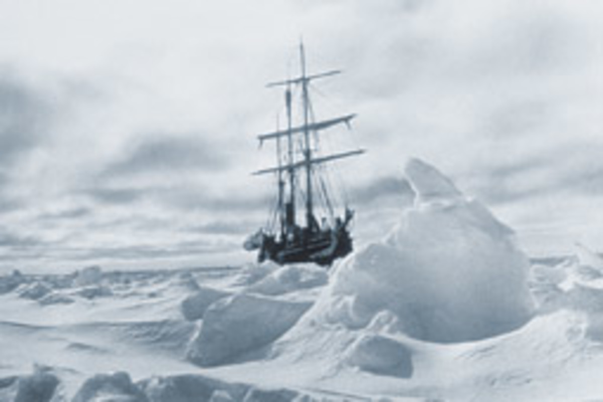 Shackleton and five of his crewmembers spent 17 days in a 22-foot boat after the Endurance was crushed in pack ice.