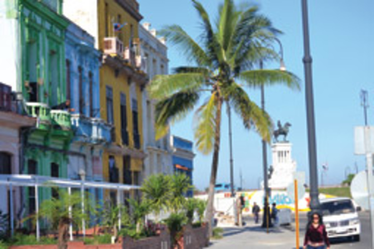 Colorful architectural gems endure in Old Havana.