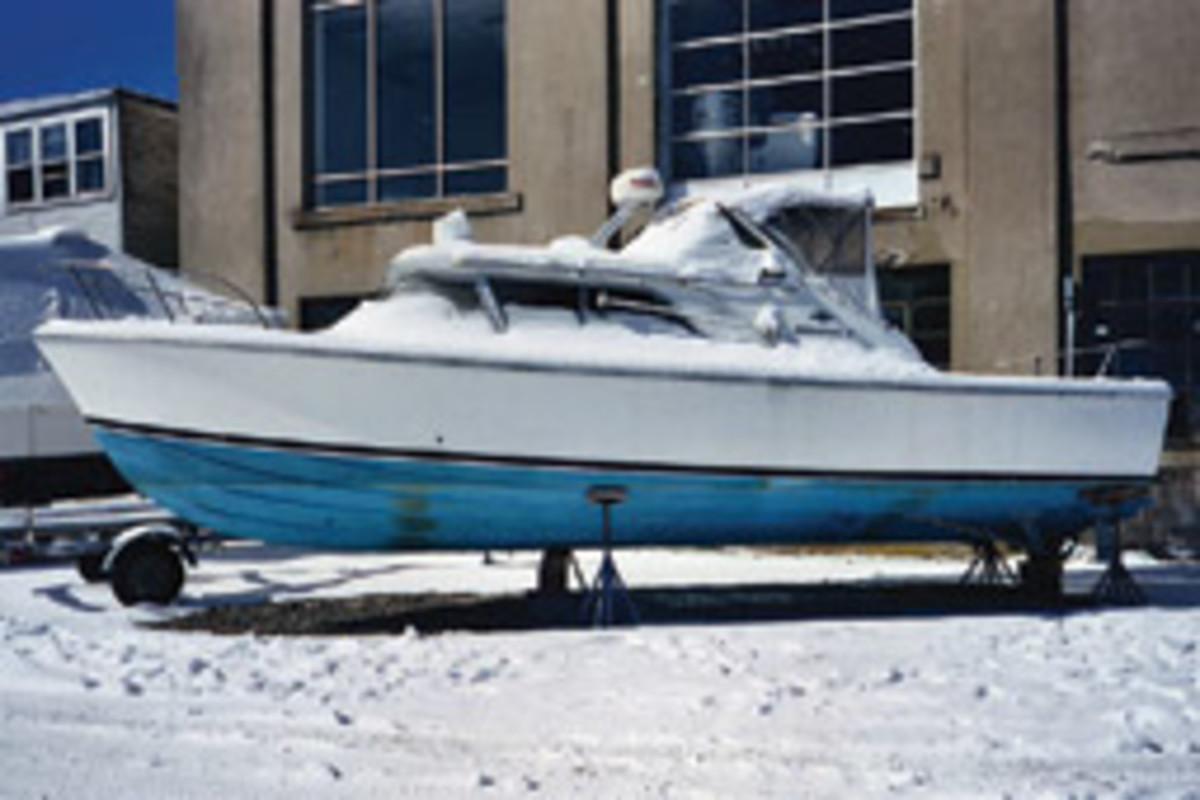 J. Johnston Marine performed a complete restoration of this 1966 Bertram 31 Bahia Mar.