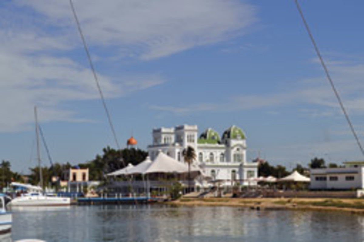 Cienfuegos Marina is one of Cuba's more prosperous marinas.