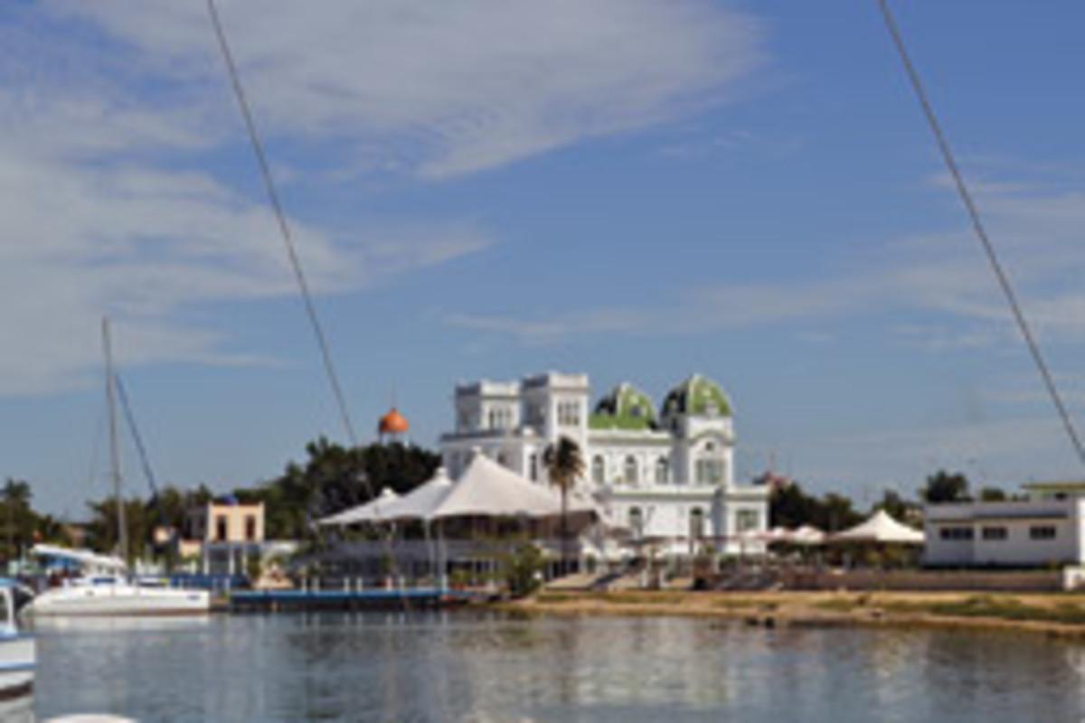 Cienfuegos Marina is one of Cuba's more prosperous marinas.