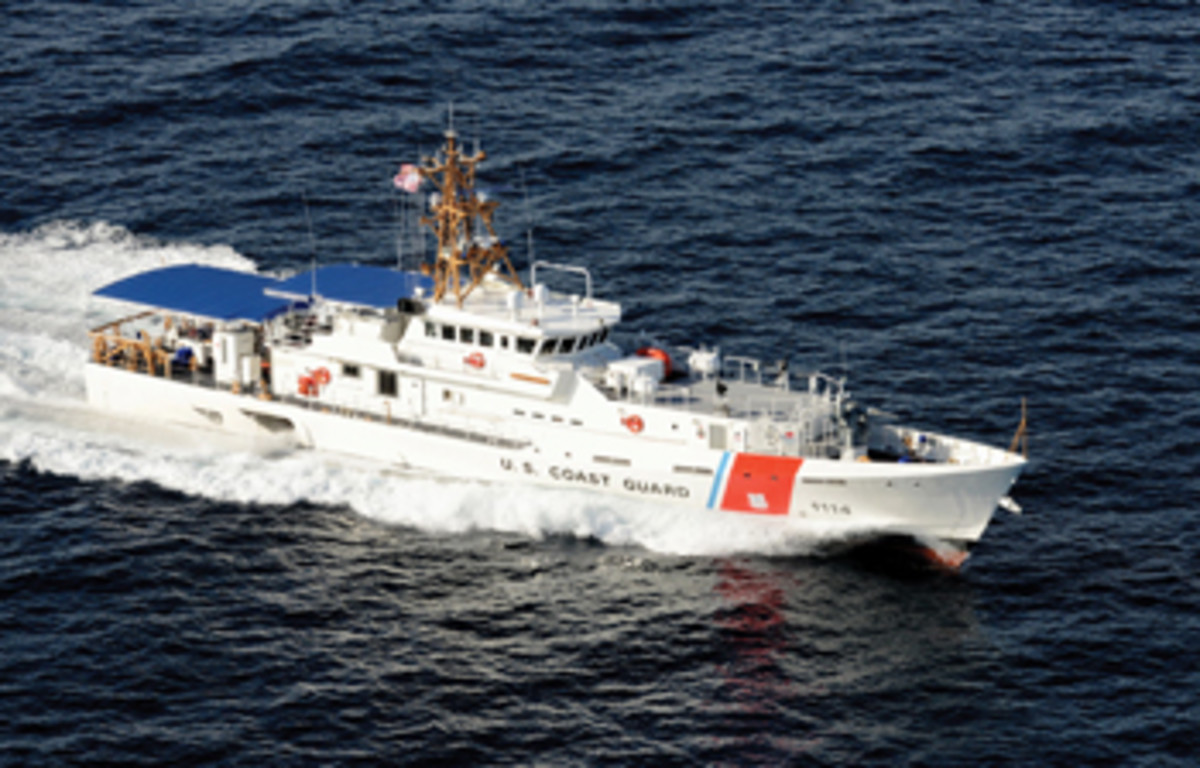 The Coast Guard's 154-foot fast response cutters deploy independently to perform such missions as port, waterways and coastal security; fishery patrols; search and rescue; and national defense.