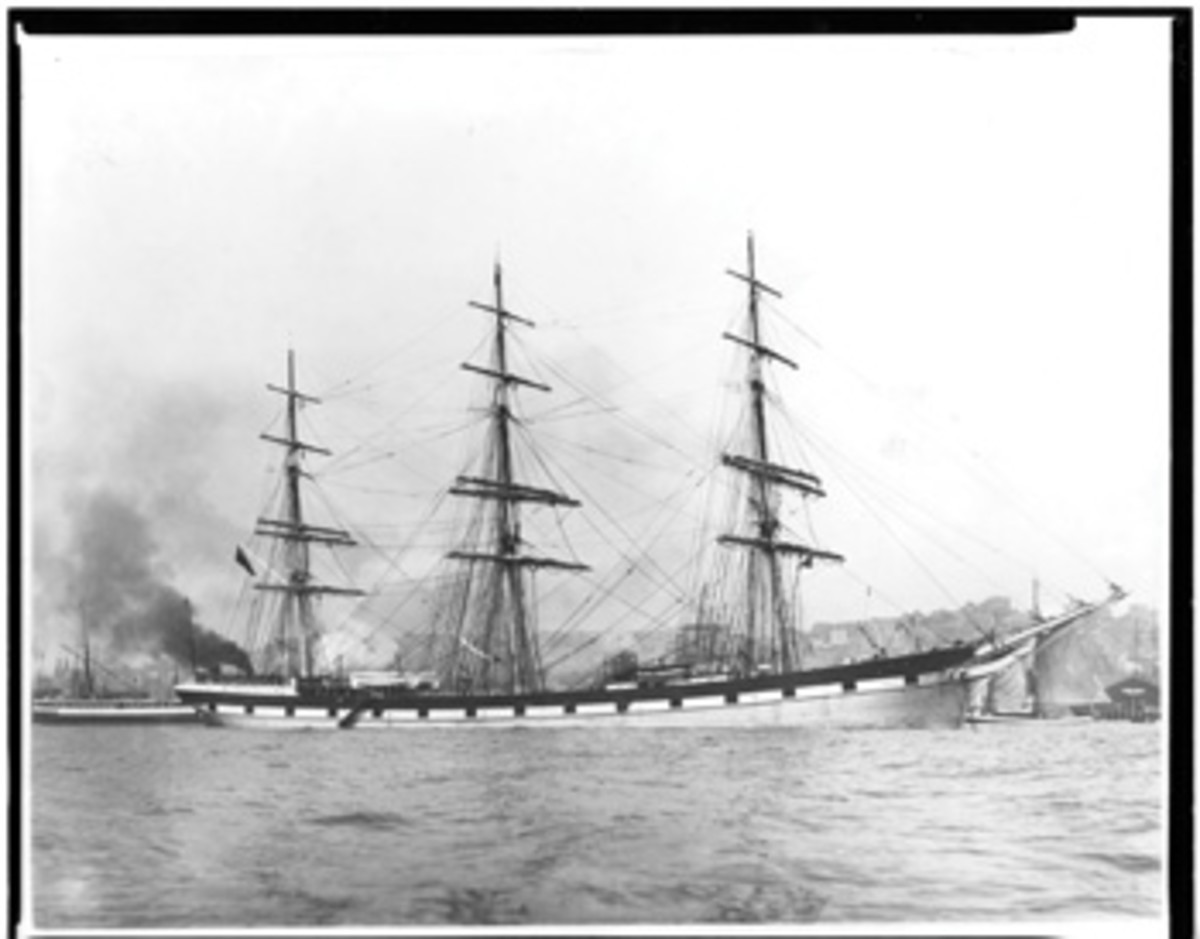 Wavertree is representative of the sailing cargo ships that built New York City.