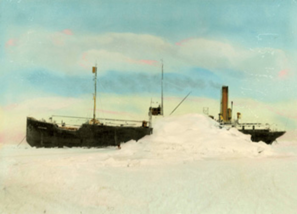 SS Baychimo was spotted periodically, drifting crewless in the Arctic for 38 years. She was last seen in 1969.