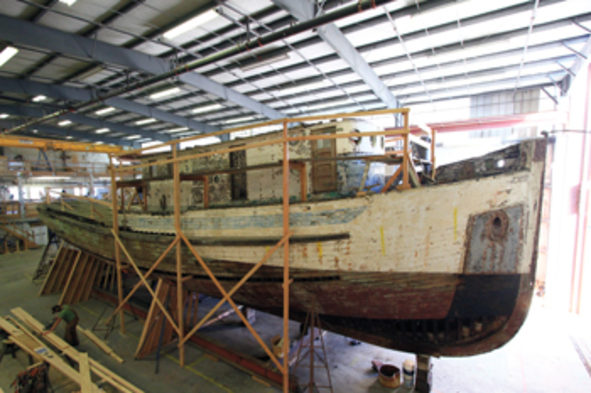 Western Flyer's latest owner, John Gregg, is having the boat restored as a research and education vessel that will tour the West Coast.