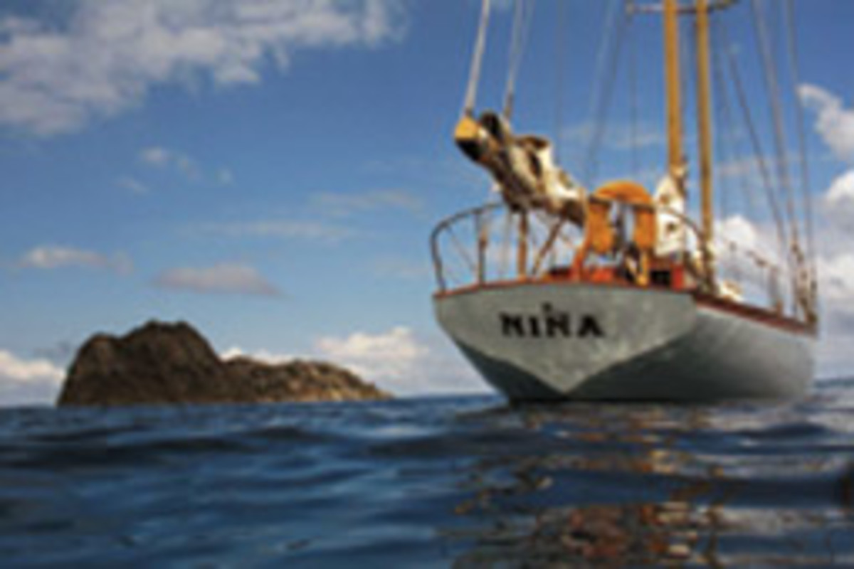 The absence of a distress call suggests Nina sank in a catastrophic event.