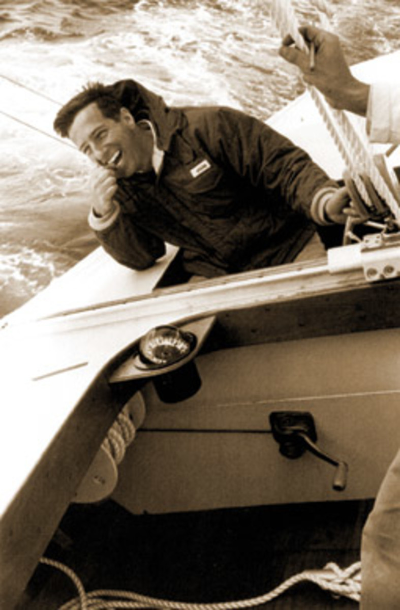Hood at the helm in 1962