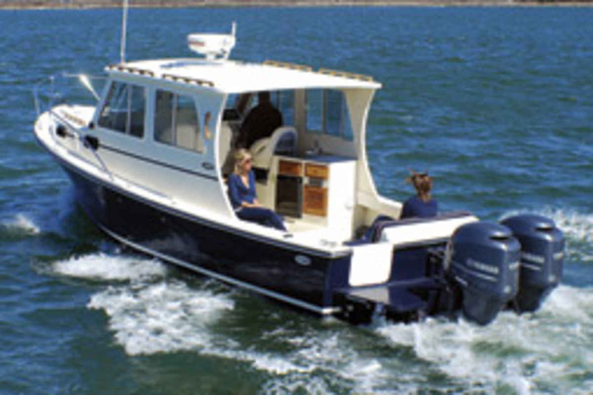 Eastern Boats introduced the 27 Islander this spring.