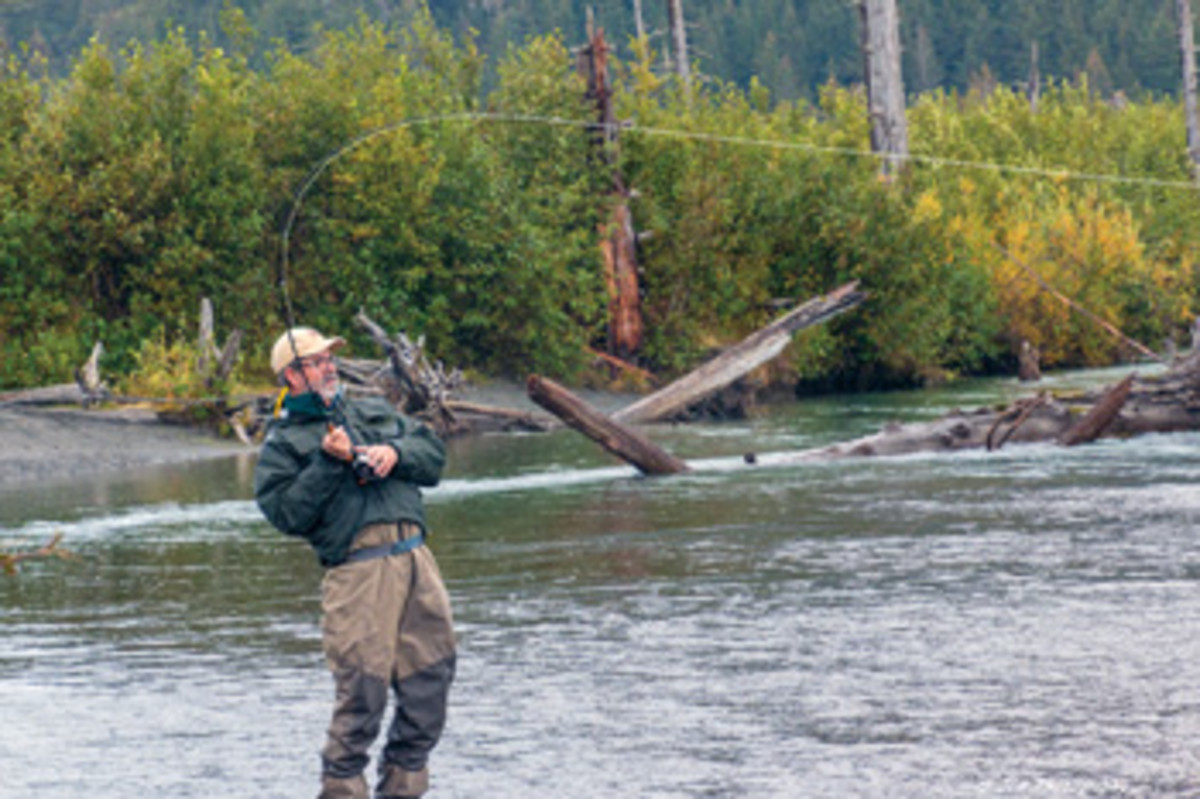 As Sisson noted in a previous Alaska experience, the most important part of fishing is really getting away.
