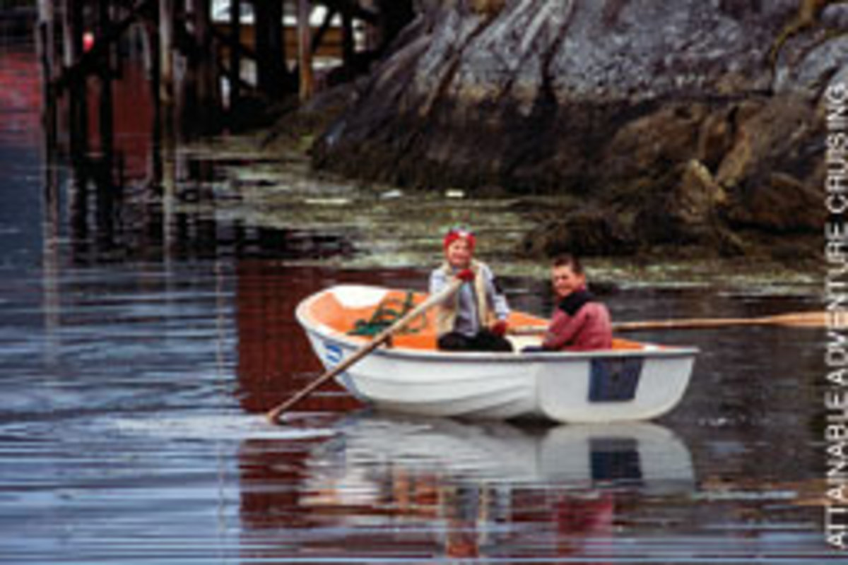 Many Norwegians begin boating at a young age.
