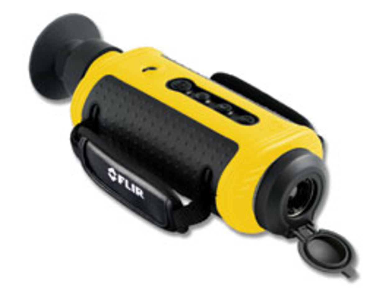 FLIR's First Mate is a waterproof hand-held thermal-imaging camera.