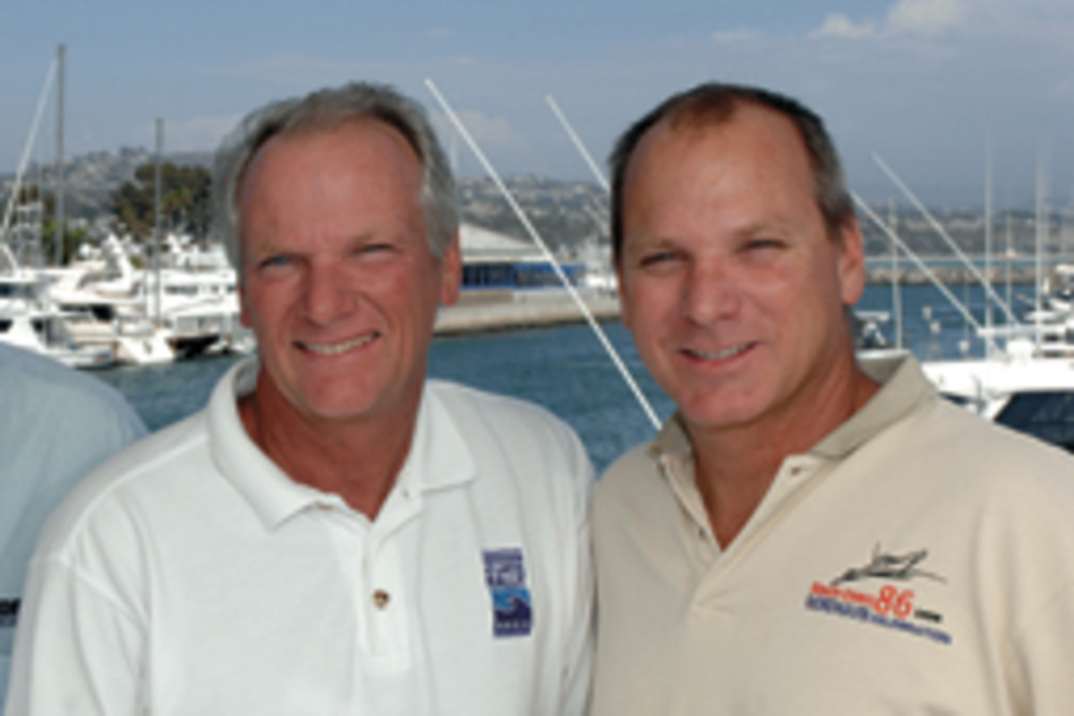 Jim and Jeff Leishman