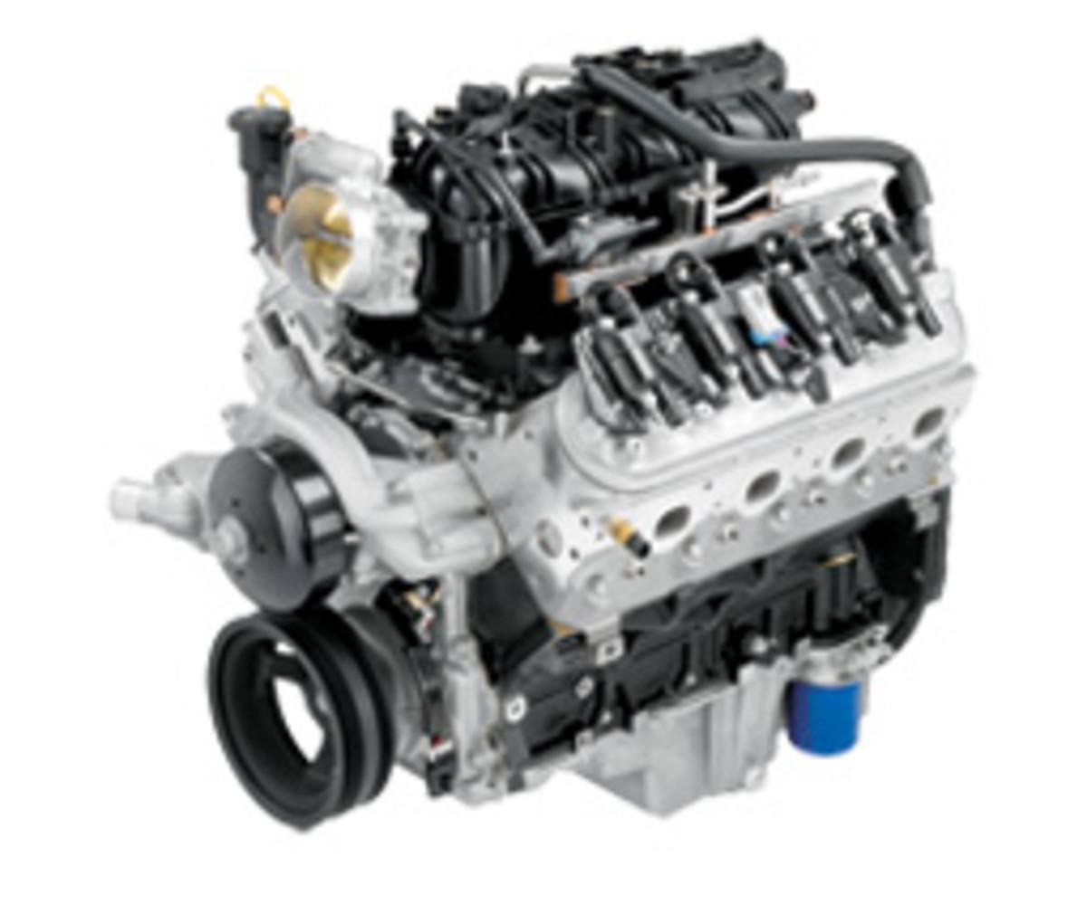 GM Vortec 6.0L V-8 base engine