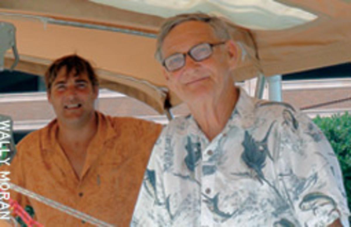 Dylan (left) and Moe Oberholzer