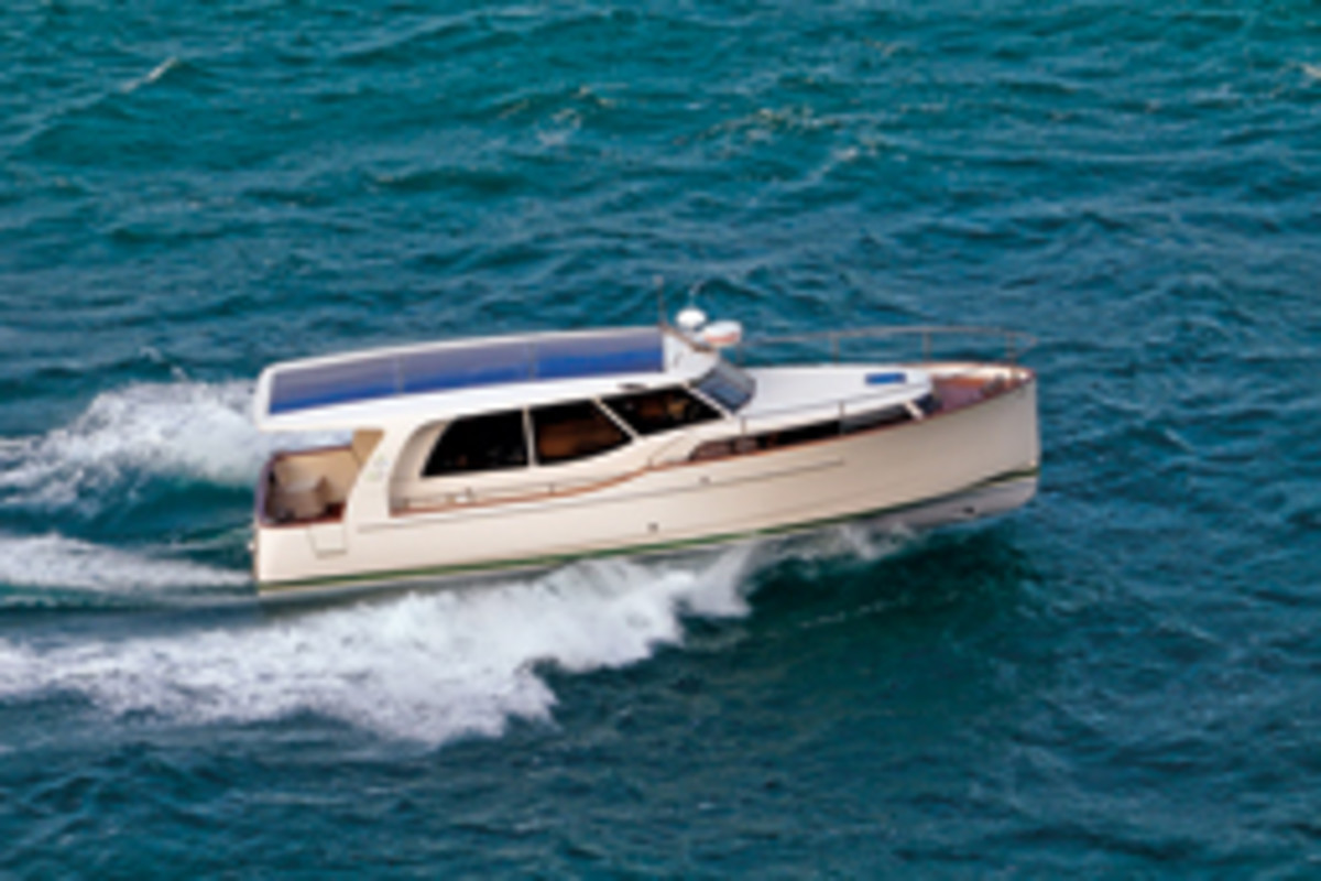 Greenline Yachts Has Sold 300 Of Its Energy Efficient Cruisers The 33 Is Shown