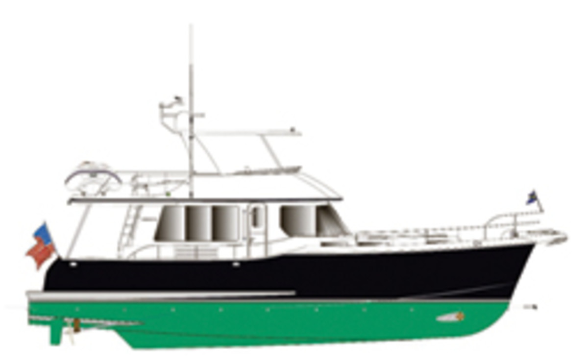 The 52 Coastal Pilot is the second semidisplacement Nordhavn design.