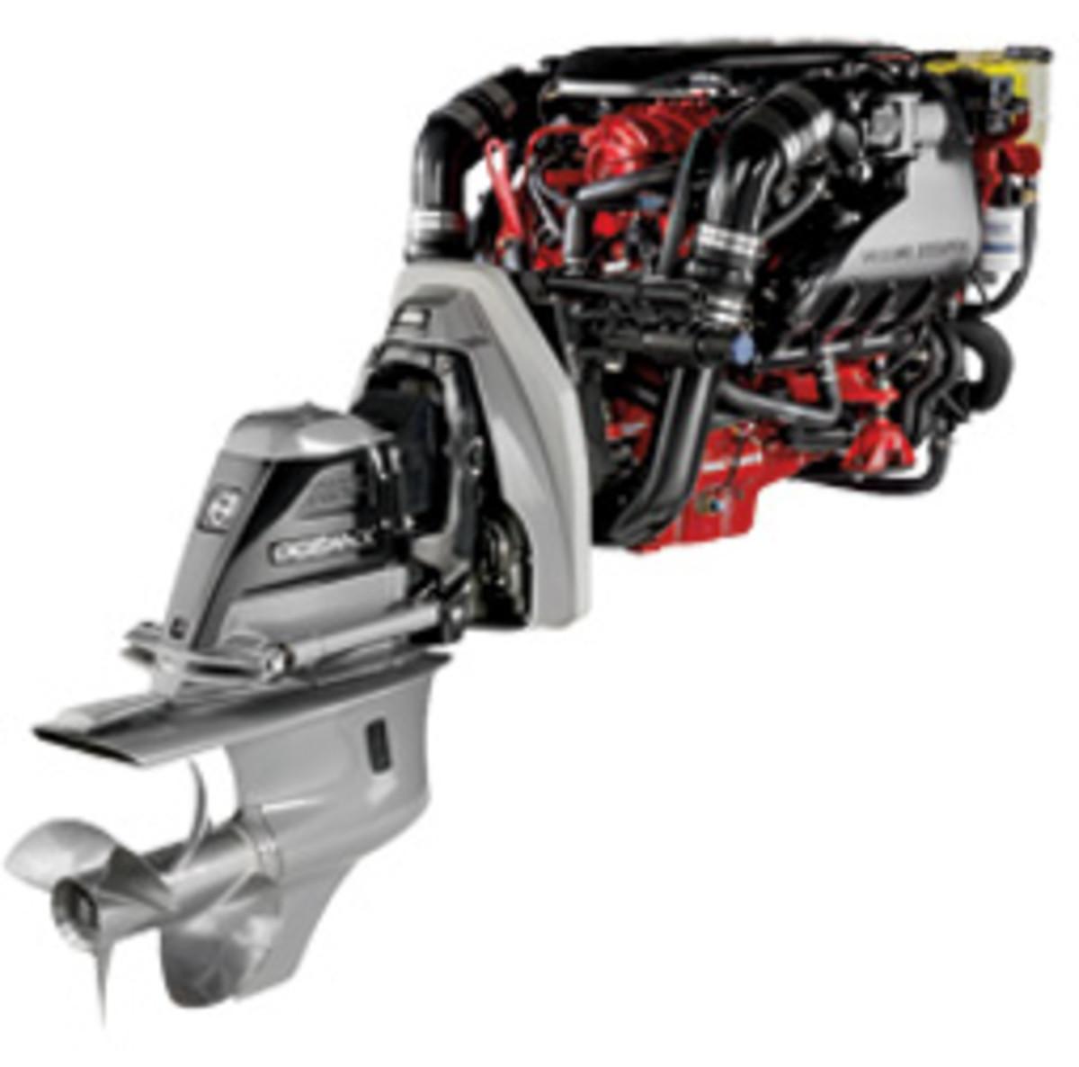 Volvo Penta's V8-380 gas sterndrive