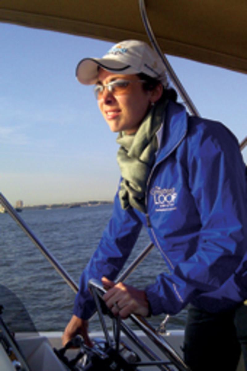 Mayrline O'Shea, marketing director for Beneteau Powerboats America