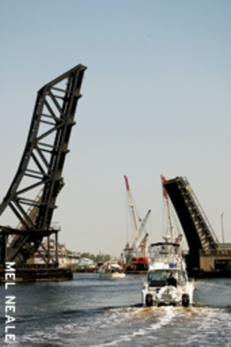 Bridge openings are a part of daily life on the ICW.
