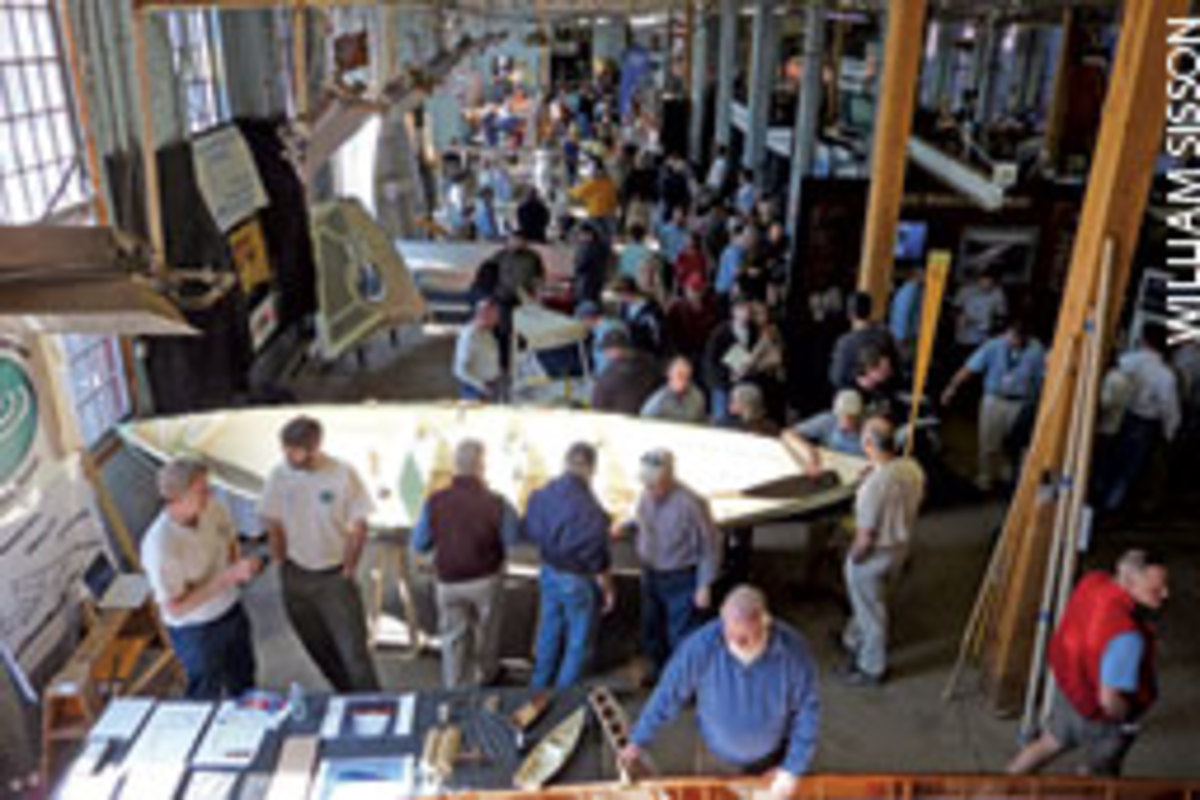 The Maine Boatbuilders Show gives fans of finely crafted boats a chance to chat with the builders.