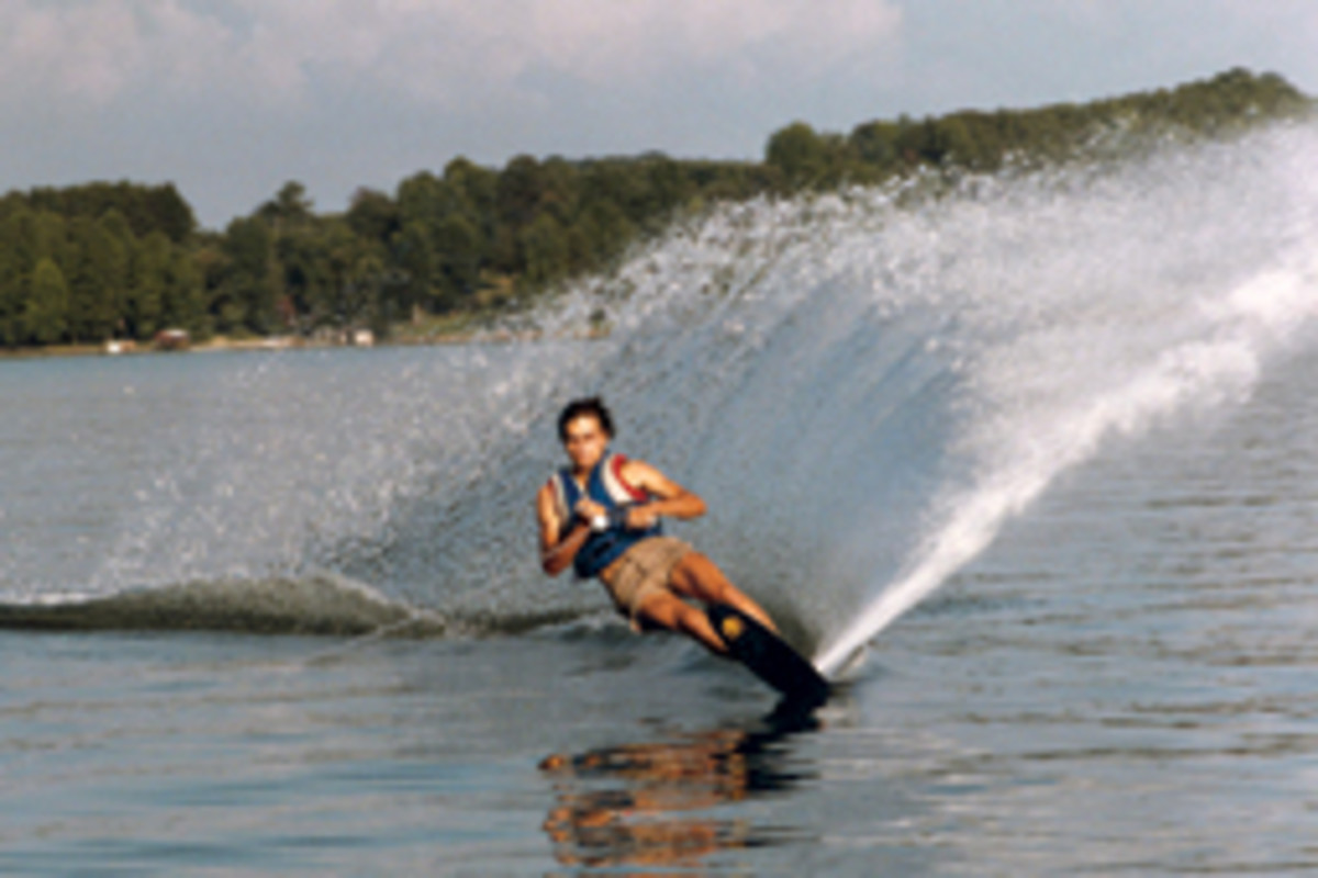 Speciale grew up at the family marina in Tennessee. water skiing and fishing from an early age.