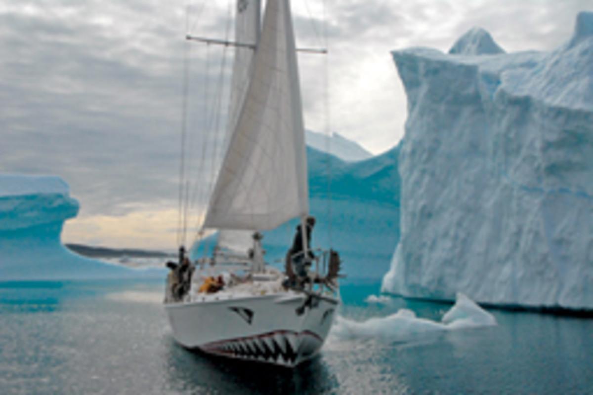 Jarle Andhoy's steel-hulled 48-footer Berserk was lost in a storm last year in the Antarctic.