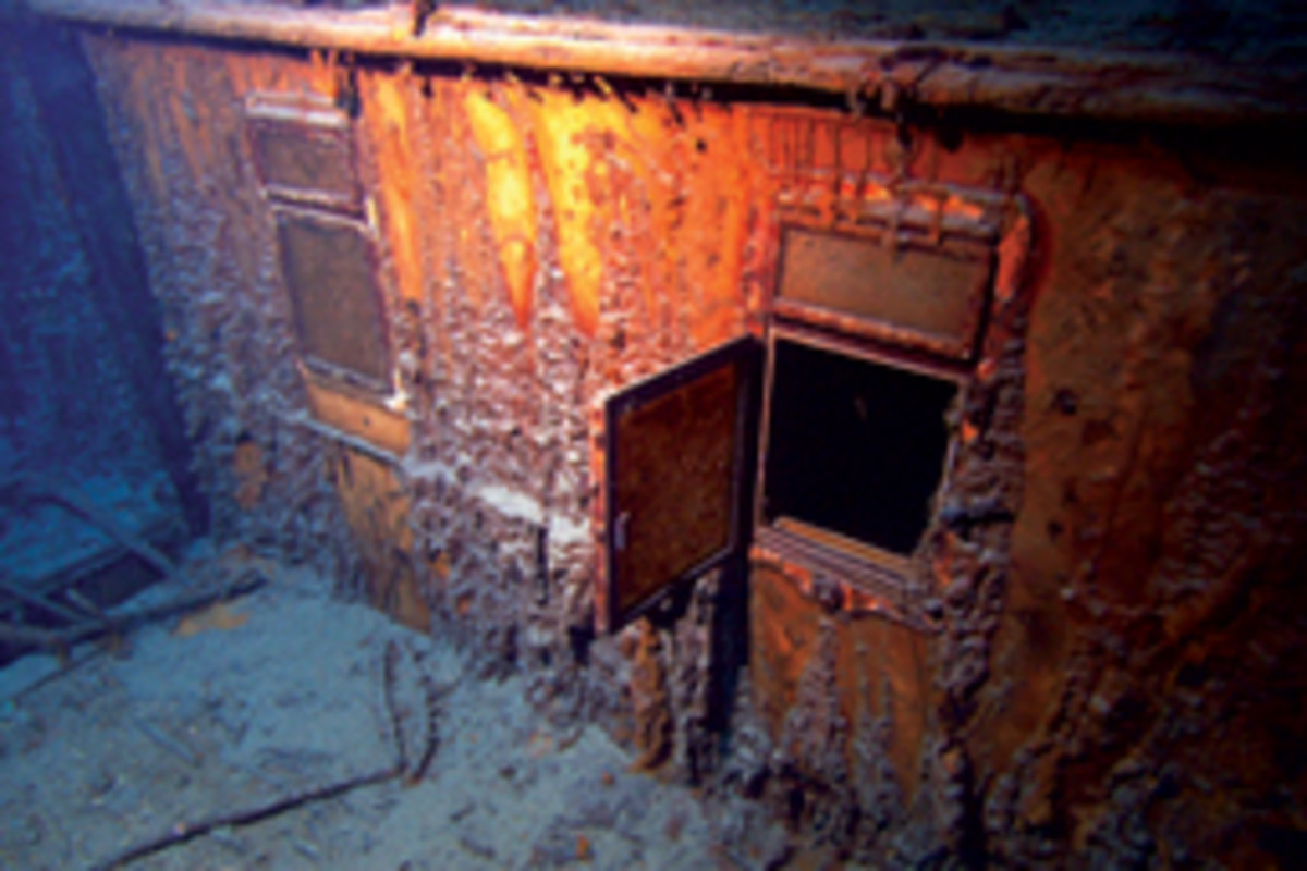 The shipwreck has been well documented in photos and video.