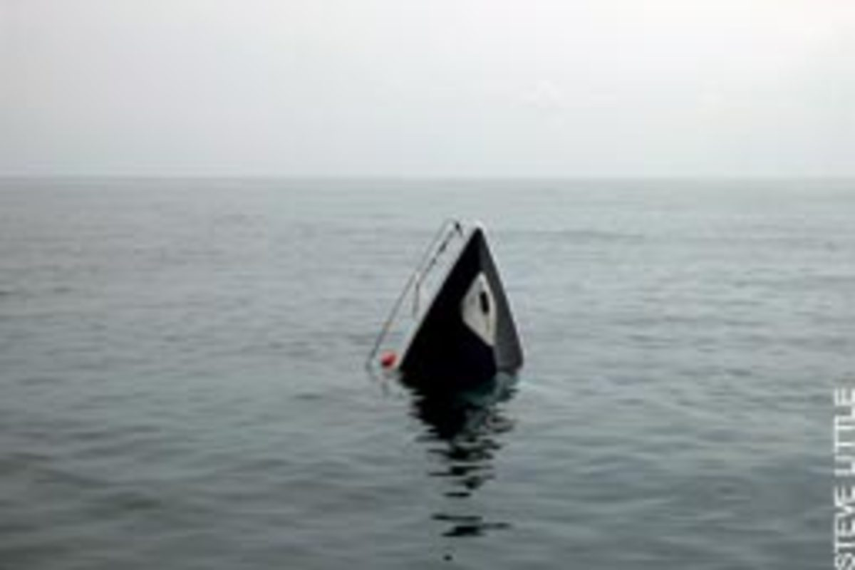 Investigators were trying to determine the cause of the sinking.