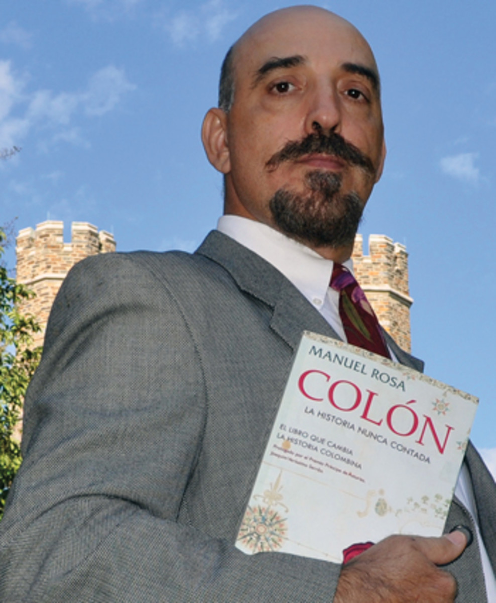 Manuel Rosa is the author of four books on Columbus.