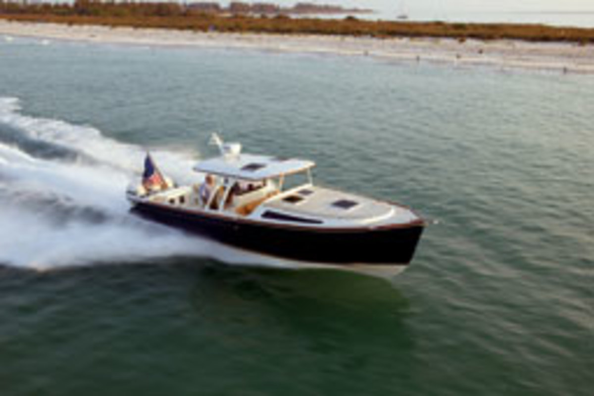 The Marlow Prowler 375 Open