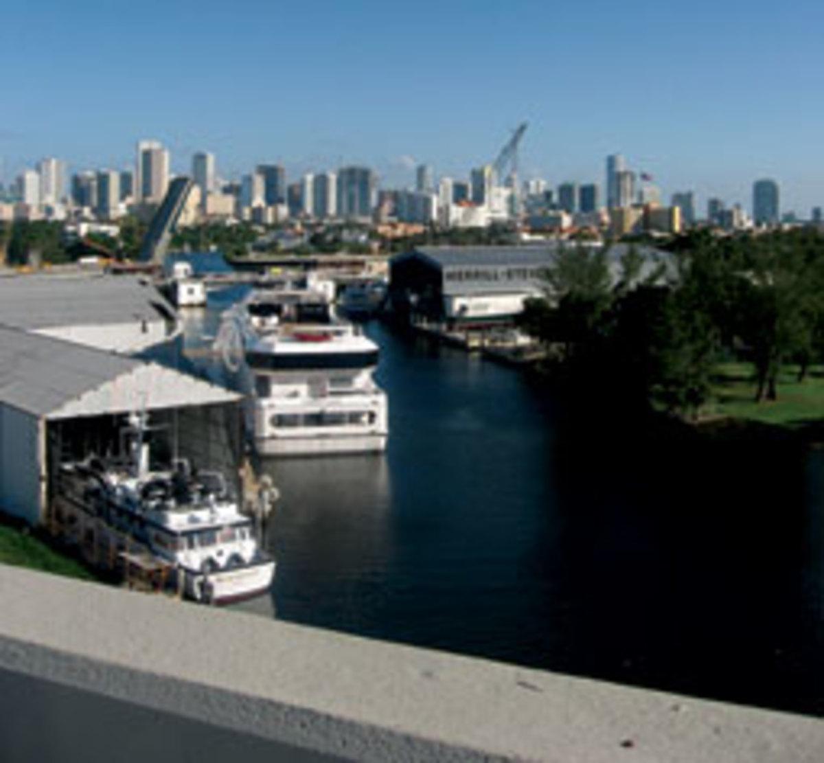 The Marlow Merrill-Stevens yard in Miami