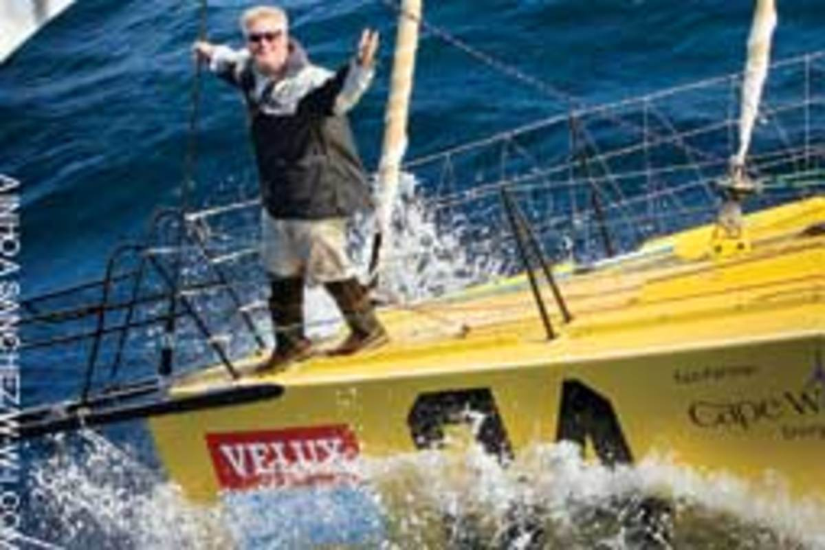 Charleston, S.C., solo ocean racer Brad Van Liew made it two wins in two ocean sprints as he sailed into Wellington, New Zealand, to claim victory in the second leg of the Velux 5 Oceans solo round-the-world yacht race.