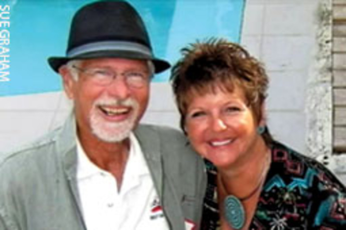 David and Karen Trauger, shown in happier times, were married on New Year's Eve in 2009.