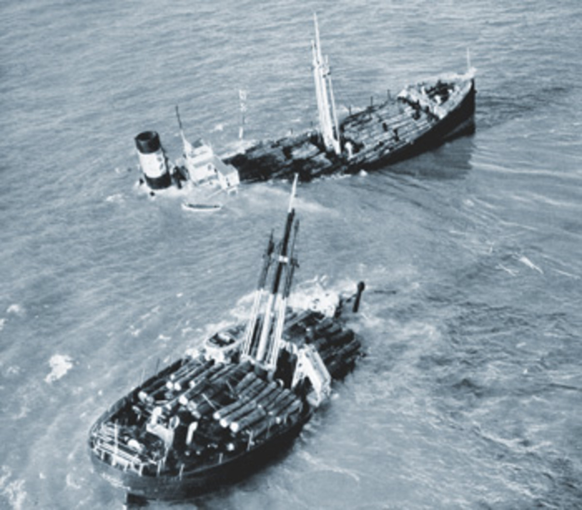 Countless ships have been lost on Goodwin Sands, an immense shoal off England's Deal coast.